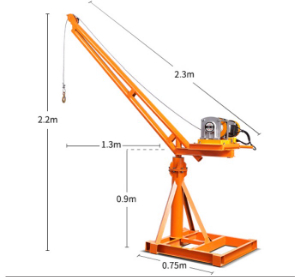 Quotation for small crane ( fast 500kg ) [Mini Construction Crane]
