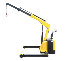 Technical details for fully electric floor crane