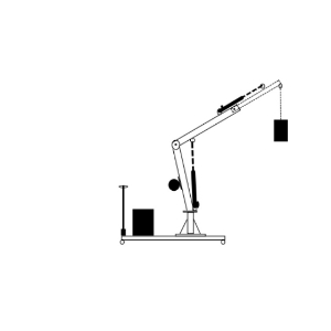 Inquiry for a floor crane without legs in front