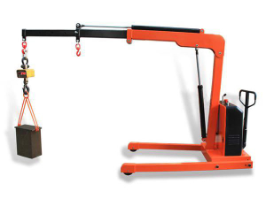 Offer for 1t semi Electric Floor Crane (cheaper series)