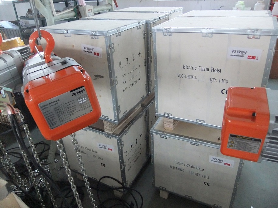 Site photos of HHXG Electric Chain Hoists7.jpg