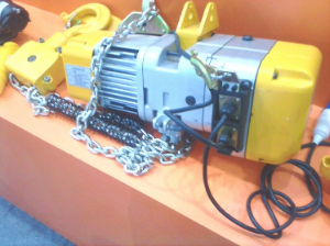 Site photos of HHXG Electric Chain Hoists