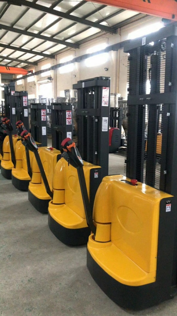 Electric walkie forklift stacker made in china6.jpg