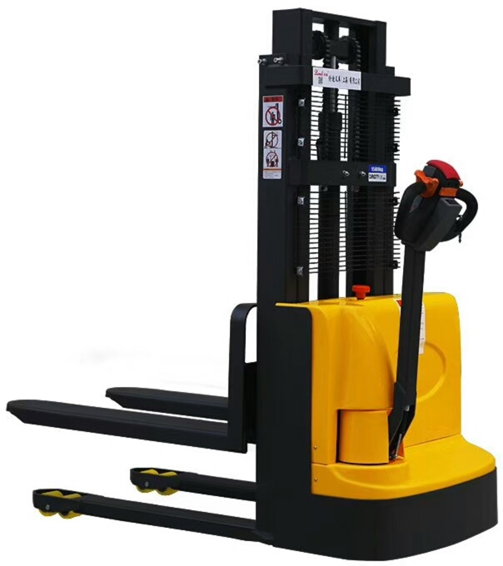Electric walkie forklift stacker made in china34.jpg